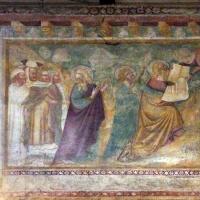 Scuola bolognese, ciclo dell'abbazia di pomposa, 1350 ca., vecchio testamento, 15 tavole della legge - Sailko - Codigoro (FE)