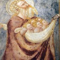 Scuola bolognese, ciclo dell'abbazia di pomposa, 1350 ca., giudizio universale, patriarchi in paradiso 03 - Sailko - Codigoro (FE)