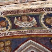 Vitale da bologna e aiuti, cristo in maestà, angeli, santi e storie di s. eustachio, 1351, 02 angelo - Sailko - Codigoro (FE)