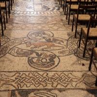 Pomposa, abbazia, interno, pavimento 07 - Sailko - Codigoro (FE)