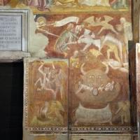 Scuola bolognese, ciclo dell'abbazia di pomposa, 1350 ca., giudizio universale, inferno 01 - Sailko - Codigoro (FE)