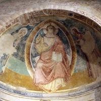 Scuola riminese, redentore tra il battista e la vergine, 1350-1400 ca - Sailko - Codigoro (FE)