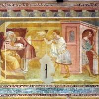 Scuola bolognese, ciclo dell'abbazia di pomposa, 1350 ca., vecchio testamento, 05 isacco, giosuè e giacobbe - Sailko - Codigoro (FE)