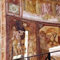 Vitale da bologna e aiuti, cristo in maestà, angeli, santi e storie di s. eustachio, 1351, 13 - Sailko - Codigoro (FE)