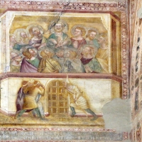 Scuola bolognese, ciclo dell'abbazia di pomposa, 1350 ca., nuovo testamento, 19 pentecoste - Sailko - Codigoro (FE)