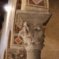 Pomposa, abbazia, interno, capitello 01 - Sailko - Codigoro (FE)