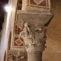Pomposa, abbazia, interno, capitello 01 - Sailko - Codigoro (FE)