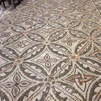 Pomposa, abbazia, interno, pavimento 04 - Sailko - Codigoro (FE)
