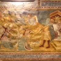 Scuola bolognese, ciclo dell'abbazia di pomposa, 1350 ca., nuovo testamento, 04 strage degli innocenti e fuga in egitto 1 - Sailko - Codigoro (FE)