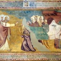 Scuola bolognese, ciclo dell'abbazia di pomposa, 1350 ca., nuovo testamento, 09 miracolo di resurrezione - Sailko - Codigoro (FE)