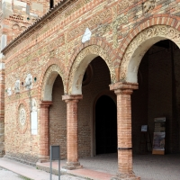 Pomposa, abbazia, atrio di mazulo del 1000-1050 ca. 02 - Sailko - Codigoro (FE)
