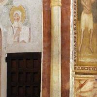 Scuola bolognese, ciclo dell'abbazia di pomposa, 1350 ca., giudizio universale, colonna dipinta - Sailko - Codigoro (FE)