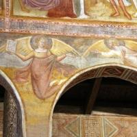 Scuola bolognese, ciclo dell'abbazia di pomposa, 1350 ca., apocalisse, 14 angelo col vangelo 1 - Sailko - Codigoro (FE)