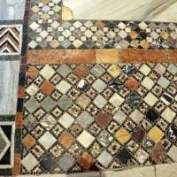 Pomposa, abbazia, interno, pavimento 03 - Sailko - Codigoro (FE)