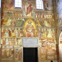 Scuola bolognese, ciclo dell'abbazia di pomposa, 1350 ca., giudizio universale 02 - Sailko - Codigoro (FE)