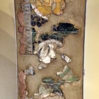 Affresco dall'intradosso dell'acone dell'absidiola sud dell'abbazia di pomposa, IX-X secolo - Sailko - Codigoro (FE)
