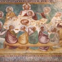 Scuola bolognese, ciclo dell'abbazia di pomposa, 1350 ca., nuovo testamento, 12 ultima cena 2 - Sailko - Codigoro (FE)
