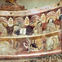 Vitale da bologna e aiuti, cristo in maestà, angeli, santi e storie di s. eustachio, 1351, 17 - Sailko - Codigoro (FE)