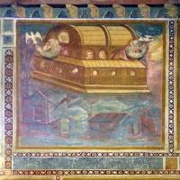 Scuola bolognese, ciclo dell'abbazia di pomposa, 1350 ca., vecchio testamento, 02 arca di noè - Sailko - Codigoro (FE)