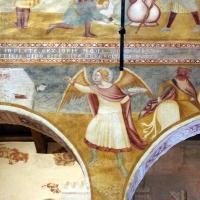 Scuola bolognese, ciclo dell'abbazia di pomposa, 1350 ca., apocalisse, 05,1 angeli 3 - Sailko - Codigoro (FE)