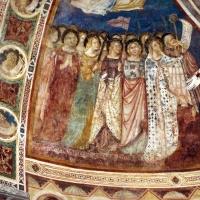 Vitale da bologna e aiuti, cristo in maestà, angeli, santi e storie di s. eustachio, 1351, 05 - Sailko - Codigoro (FE)