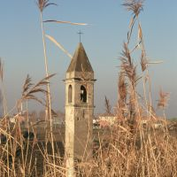 Pilastrino sull' argine del Po - Samaritani - Codigoro (FE)