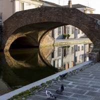 Ponte San Pietro, Riflessi - Vanni Lazzari - Comacchio (FE)