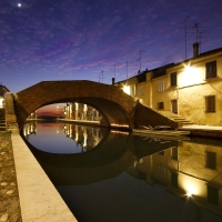 Tramonto racchiuso - Nbisi - Comacchio (FE)