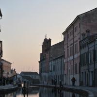 Riflessi al tramonto e i ponti di Comacchio - Chiari86 - Comacchio (FE)