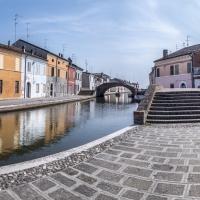Ponte San Pietro e Ponte dei Sisti - Vanni Lazzari - Comacchio (FE)