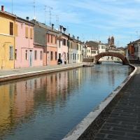 Comacchio, canale maggiore presso via san pietro, 02 - Sailko - Comacchio (FE)
