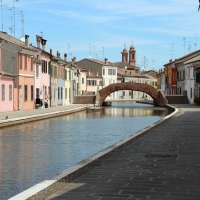 Comacchio, canale maggiore presso via san pietro, 03 - Sailko - Comacchio (FE)