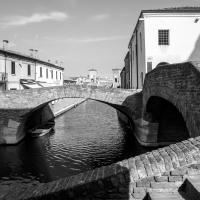 Trepponti visto dal Ponte degli Sbirri - Vanni Lazzari - Comacchio (FE)