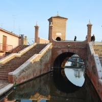 Il dietro del Ponte dei Trepponti - Chiari86 - Comacchio (FE)