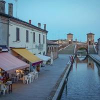Trepponti verso sera - Vanni Lazzari - Comacchio (FE)