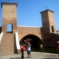 Ponte dei Trepponti a Comacchio 01 - Sandra Grampa - Comacchio (FE)