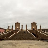 Trepponti e nuvole - Paola Pedone - Comacchio (FE)