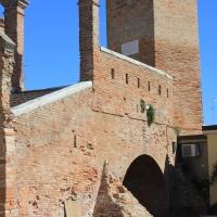 Particolare Torretta destra Ponte dei Trepponti - Chiara Dobro - Comacchio (FE)