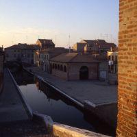 veduta dalla sommità dei Trepponti - zappaterra - Comacchio (FE)
