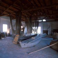 casone di valle. Interno - Samaritani - Comacchio (FE)