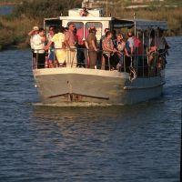 Turisti in motonave - Rebeschini - Comacchio (FE)