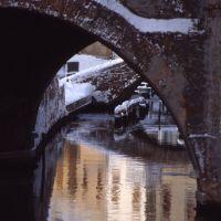 riflesso sui canali d'inverno - zappaterra - Comacchio (FE)