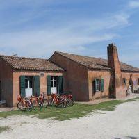 Valli e Salina, casone bettolino di foce - Servizio turismo - Comacchio (FE)