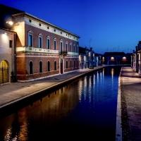 Palazzo Bellini nell'ora blu - Comacchio - Vanni Lazzari - Comacchio (FE)