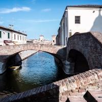 Vista dal Ponte degli Sbirri - Vanni Lazzari - Comacchio (FE)
