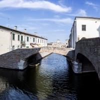 Vista del Ponte degli Sbirri - Vanni Lazzari - Comacchio (FE)