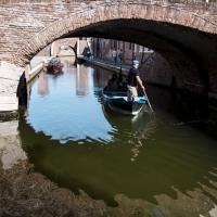 Sotto il ponte degli Sbirri - Vanni Lazzari - Comacchio (FE)