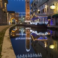 A Natale lungo il Canale - Nbisi - Comacchio (FE)