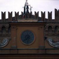 Palazzo Comunale. Particolare - Zappaterra - Copparo (FE)