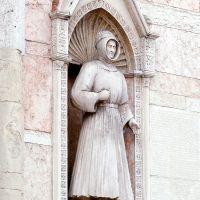 Cattedrale, statua di Alberto V - Baraldi - Ferrara (FE)